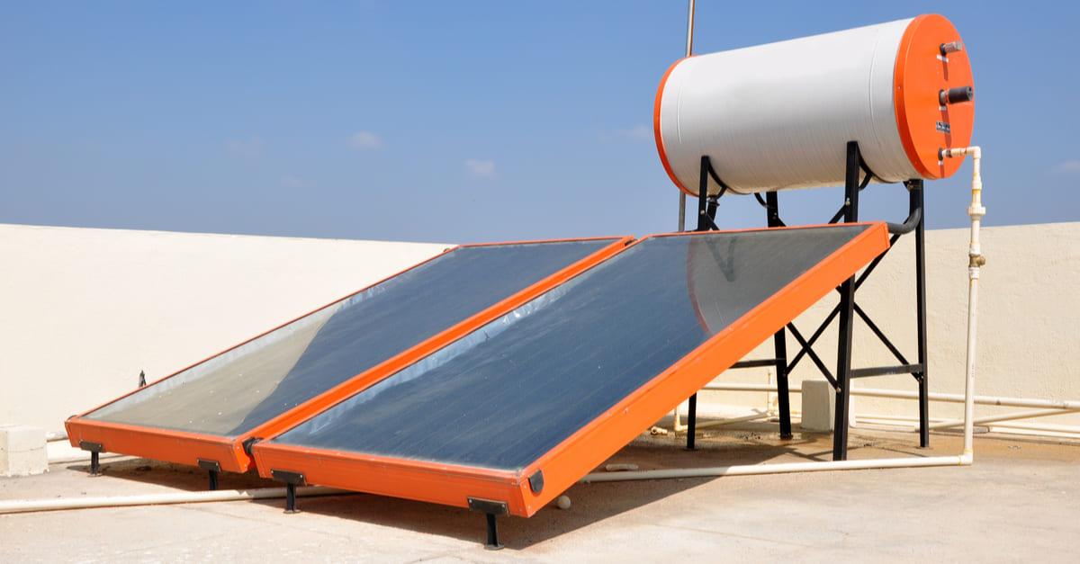 aquecedor solar e coletor